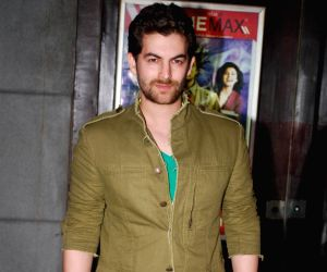 Neil Nitin Mukesh at Alladin Premiere in Cinemax.
