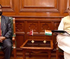 Nepal's Deputy PM calls on Rajnath Singh