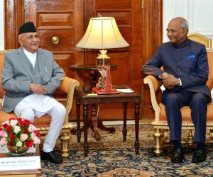 K.P. Sharma Oli, called on Ram Nath Kovind