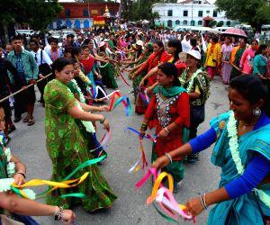 NEPAL KATHMANDU RATH YATRA FESTIVAL