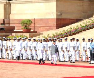 Nepalese PM's Ceremonial Reception