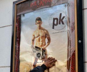 Hindu Sena protest against 'PK'