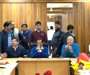 Kejriwal elected leader of AAP legislative party