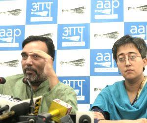 Gopal Rai's press conference
