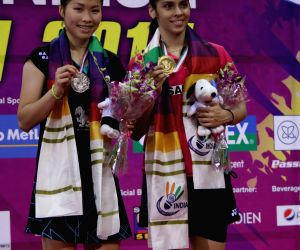 Saina wins India Open title