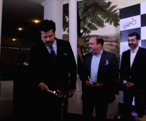 Actor Anil Kapoor  at exhibition