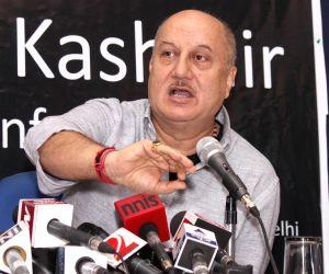 Anupam Kher's press conference