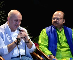 Anupam Kher during National School of Drama's 'Living Legend'