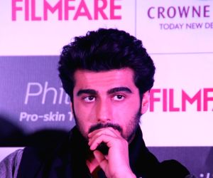 Arjun Kapoor at the cover launch of Filmfare magazine
