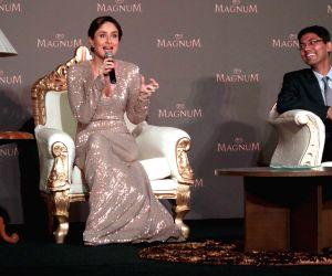 Kareena Kapoor at the launch of an ice cream