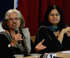 Press conference in support of Teesta Setalvad