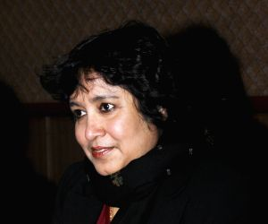 New Delhi : Taslima Nasrin at International Film Festival