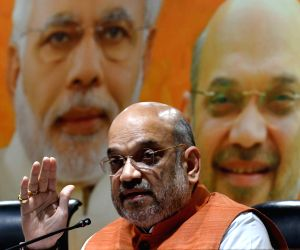 Opposition coming together no threat to BJP: Amit Shah