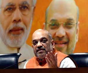 Four years of power: Amit Shah says Modi gave corruption-free government
