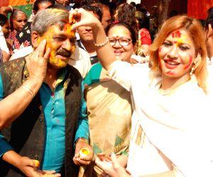 Holi Milan programme - BJP