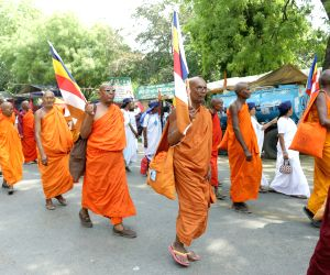 Buddhists' demonstration