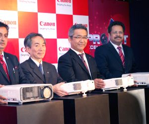 Canon launches new projectors