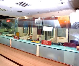 New Delhi: Central Bank of India's Parliament Street branch wears a deserted look during a two-day nationwide bank strike spearheaded by the United Forum of Bank Unions (UFBU), an umbrella body of nine unions; in New Delhi on May 30, 2018. The banker