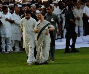 Death anniversary of Rajiv Gandhi