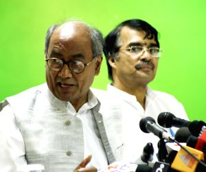 Digvijay Singh's press conference