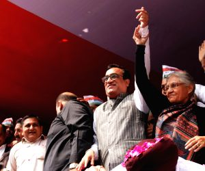 Ajay Maken assumes charge as Delhi Congress chief