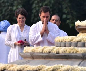 Rajiv Gandhi remembered on his 74th birth anniversary