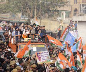 New Delhi : Rahul Gandhi election campaign