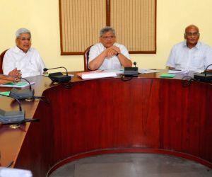 New Delhi : Sitaram Yechury at party meeting