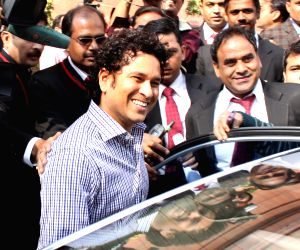 Parliament - Winter Session - Day 1 - Sachin Tendulkar