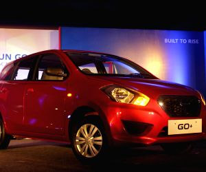 Datsun Go+ launched in New Delhi