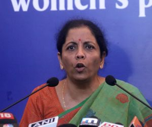 Sitharaman slams Congress for asking banks to give loans to Mallya