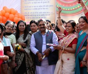 Satish Upadhyay during a party programme