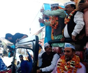 AAP takes out rally, starts poll campaign in Delhi
