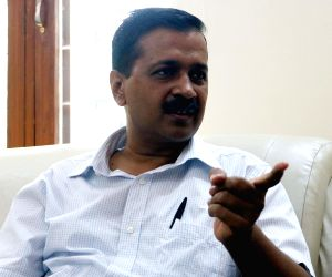 I fear tampering with EVMs in MCD polls too: Kejriwal (IANS Interview) ()