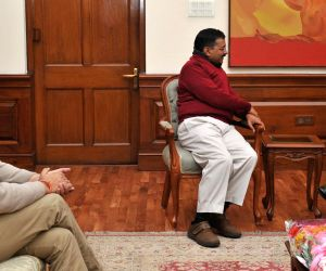 Arvind Kejriwal, Manish Sisodia calls on PM Modi