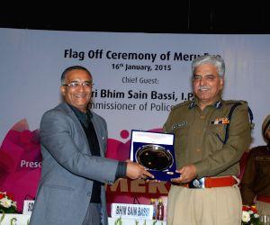 Delhi Police Commissioner  flags-off  'Meru Eve