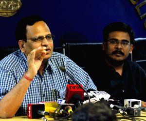 Satyendra Kumar Jain's press conference