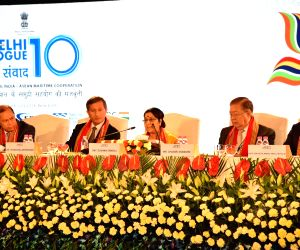 Sushma Swaraj - Tenth Edition of Delhi Dialogue