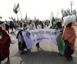 Farmers Foot March rally