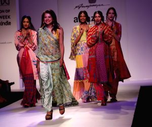 Amazon India Fashion Week - Anupama Dayal