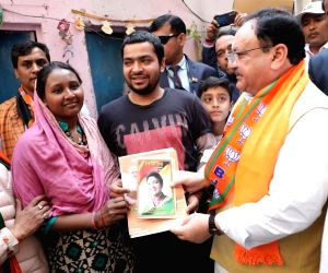 JP Nadda reaches out to Maithil voters in Delhi