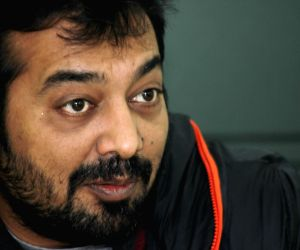 Anurag Kashyap during an interview with IANS
