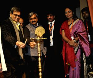 Subhash Ghai and Satish Upadhyay during inauguration of Delhi International Film Festival