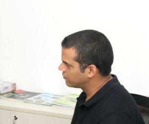 Radhika Apte, Vikramaditya Motwane, Gulshan Devaiya during an interview with IANS