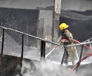 Fire at Delhi warehouse