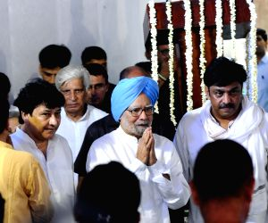 New Delhi: Former Prime Minister Manmohan Singh during a condolence meeting for late former Delhi Chief Minister Sheila Dikshit, in New Delhi on Aug 4, 2019. (Photo: IANS)