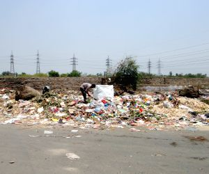Sanitation workers go on strike
