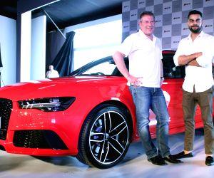 Virat Kohli unveils Audi's RS 6 Avant