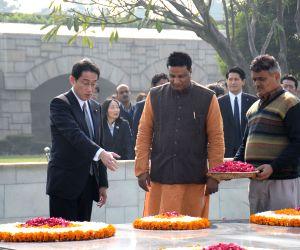 Japanese Minister pays tribute to Mahatma Gandhi