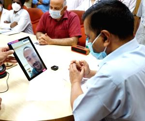 New Delhi, June 25 (IANS) Delhi Chief Minister Arvind Kejriwal on Thursday launched a video call facility for coronavirus patients admitted at the LNJP Hospital to talk to their relatives.